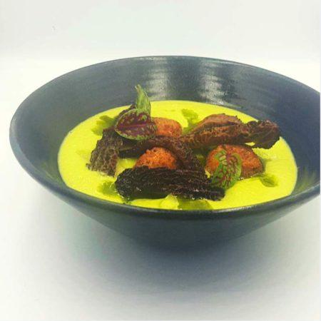 crema-di-asparagi-polpette-spugnole