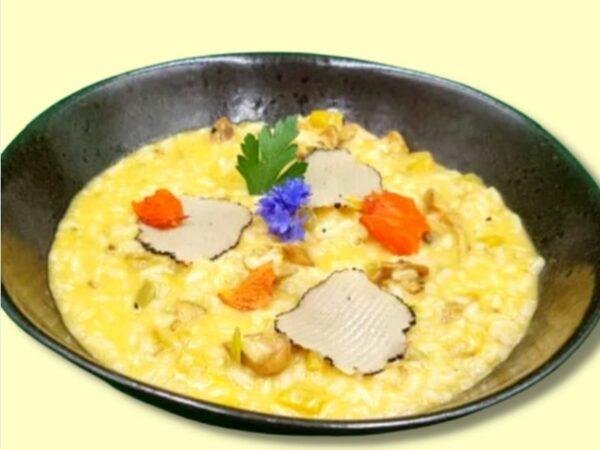 risotto-finferli